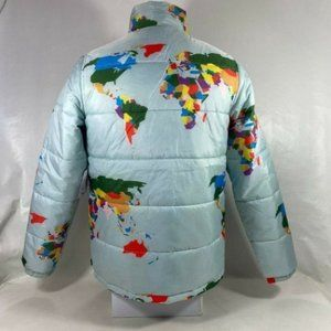 Vans Mens Save Our Planet X Puffer Jacket Size XS